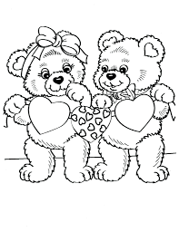 Teddy Bear Picnic Colouring Pages Sheets Printable Coloring Images Set Free Full Size