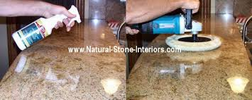 Best Way To Polish Granite Countertops Counterps Pertaining Plans