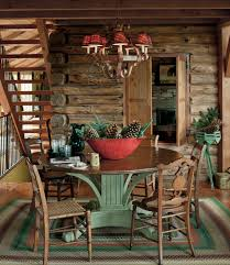 Log Cabin Kitchen Decorating Ideas by Log Cabin House Tour Decorating Ideas For Log Cabins