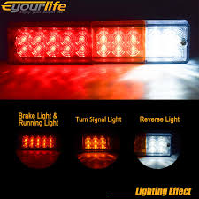 Eyourlife 20 LED Trailer Truck Tail Lights Bar DC12V Red Amber White ... Brunninglights Anyone Install Recon Big Rig Running Lights This Fire Truck Was Running Lights And Sirens She Still Managed Supernova Leds Ford Raptor Style Amber Driving Light Led Truck With Underglow Color Ebcs 35cedf2d70e3 Lyc Lamp Accsories For Trucks Off Road Lights Amazoncom Ijdmtoy 5pcs Cab Roof Top Marker Running Aliexpresscom Buy Autoec 5pcsset Car Fitt Led Drl Daytime Fits Ranger T6 Mk2 Sema 2016 Anzo Expands Switchback Lighting For Jungle Spyder Auto 5077714 Tuff Parts Mengs 1pair 05w Waterproof Side Most Buses Automotive Household Trailer Rv Bulbs