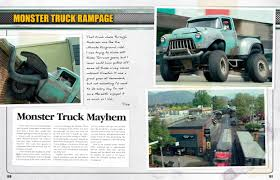 Monster Trucks Manual | Haynes Publishing Monster Truck Rammunition Draws Plenty Of Attention News Timeswvcom Thunder Tiger Krock Mt4 G5 18 Electric Truck Rtr Specials Gorgeous 1984 Jeep Cj7 Custom Build Just A Car Guy Some New Things In Trucks A 70 Coronet Cartoon Royalty Free Vector Image Photo Album Rc Ford Raptor Toy R Vehicle Remote Control Home School Bus Monster Truck Jam Tshirt For Boys And Girlstd Teedep 1989 Wrangler Street Legal Ultimate Rock Crawler 2011 Ram Hd Raminator Carl Burger Dodge Chrysler Big Red Beast 1976 Cj Monster Trucks Sale Legendary Built By Yakima Native Gets Second Life