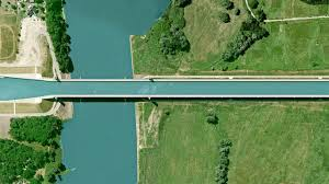 100 Magdeburg Water Bridge Physics And The Satellite Photos Of