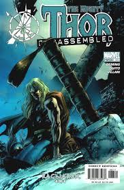 Thor Disassembled Photo Marvel Comics