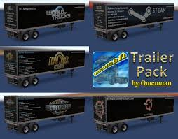 100 Truck Trailer Games Package V10100 131x ATS Mods American