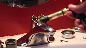 Moen Kingsley Faucet Cartridge Replacement by How To Replace Moen 1225 Water Faucet Cartridge Youtube