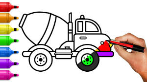 Cement Mixer Truck Coloring Pages – How To Draw Construction Truck ... How To Draw A Truck Step By 2 Mack A Simple Art Projects For Kids To Easy Drawing Tutorials Semi Monster Refrence Coloring Really Tutorial Man Army Coloring Page Free Printable Pages Draw Dodge Ram 1500 2018 Pickup Drawing Youtube Ways With Pictures Wikihow Of Cartoon Trucks 1 Tow Truck
