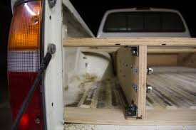 100 Wood Truck Bed Plans Loft Building Toolbox Diy Slide Out Storage Solutions
