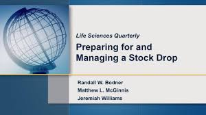 ropes gray llp video preparing for and managing a stock drop