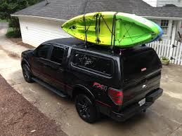 Kayaks- F150 Roof Racks??? - Ford F150 Forum - Community Of Ford ... Thule Xsporter Truck Rack 46 Fancy Pickup Kayak Racks Autostrach Ebay Amazon Diy For Toyota Highlander Best Resource Selecting For Your Vehicle Olympic Outdoor Center Kayak Rack Travel Trailer Google Search Camping Pinterest Zrak 2 Minute Transformer Youtube No Drill Ladder Installed To With Diy Pvc Canoe Truck Pvc Hasyim Topic How To Haul A On Pickup Diy Part Birch Tree Farms