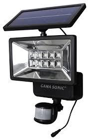 Gama Sonic GS 10 Solar Motion Sensor Outdoor Security Light