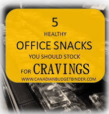 5 healthy office snacks you should stock for cravings the