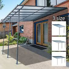 Outdoor Wall Mounted Door Awning Patio Canopy Cover Sun Shade