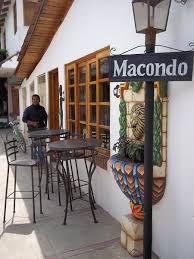 Panajachel Guatemala Restaurant Cuban Macondo Outdoor Cafe Seating