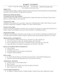 Skill Resume Samples Simple Resume Format