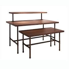 Grey Pipeline Retail Nesting Tables