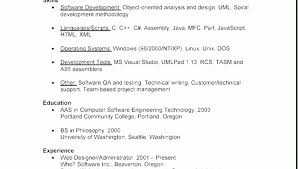 Example Resume For Highschool Students With No Experience Unique Resumes Examples Sample