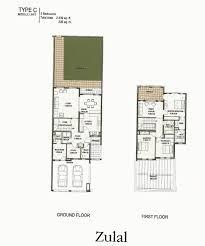 C Floor Plans by The Lakes Dubai Floor Plans Emirates Living Deema Ghadeer