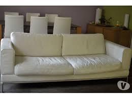canape cuir blanc ikea canapé ikea arild cuir clasf