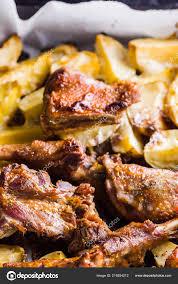 100 Golden Crust Baked Meat Potatoes Duck Meat Baking Sheet