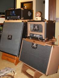 Custom Guitar Speaker Cabinet Makers by Custom Hardwood Amp Stands Gearslutz Com Guitars Decora