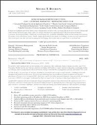 Sales Account Manager Resume Summary Resumes General Sample Page 1 Executive Templates