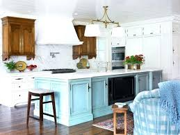 Rustic White Kitchen Island Terrific Teal Islands With Seating Light Blue