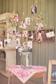 Rustic Vintage Bridal Shower Decor