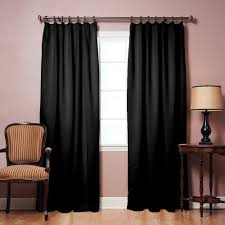 Decorative Traverse Curtain Rods With Pull Cord by Amazon Com Pinch Pleated Thermal Insulated Blackout Curtain 40