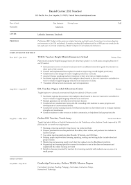 ESL Teacher Resume Sample & Writing Guide | Resumeviking.com How To Put Your Education On A Resume Tips Examples Write Killer Software Eeering Rsum Teacher Free Try Today Myperfectresume Teaching Assistant Sample Writing Guide 20 High School Grad Monstercom Section Genius Best Director Example Livecareer Sample Teacher Rumes Special 12 Amazing