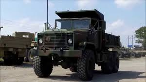 100 Army 5 Ton Truck M929A1 6x6 Military Dump AM General YouTube