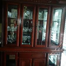 best china cabinet hutch with lights for sale in garden grove