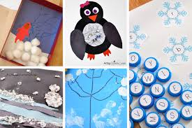 Winter Themed Crafts Reading Learning Activities For Preschoolers
