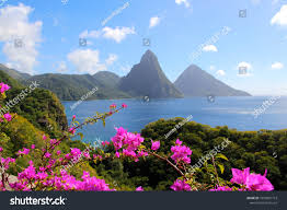 100 Jade Mountain Pitons St Lucia Seen Stock Photo Edit Now