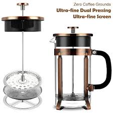 French Press Famirosa Coffee Maker For