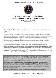 fbi bureau of investigation u les fbi going enforcement problems in lawful