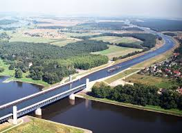 100 Water Bridge Germany Magdeburg The Longest Navigable Aqueduct In