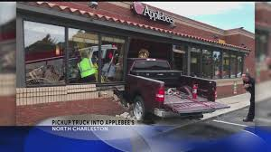 Truck Crashes Into Applebee's