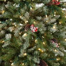 Fiber Optic Christmas Tree Walmart Canada by Snowy Dunhill Full Pre Lit Christmas Tree Hayneedle