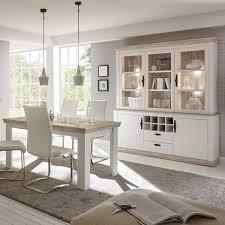 buffetschrank und esstisch set im landhaus stil ferna 61 in pinie weiß