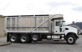 100 Truck Dealer Brand New Dump At Lot Stock Photo Picture And