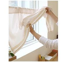 Amazon Lace Kitchen Curtains by Cafe White Lace Curtains Amazon Com