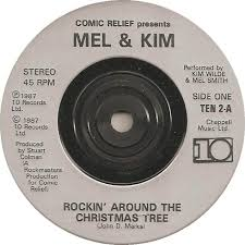 Kim Wilde Rockin Around The Christmas Tree by 45cat Mel And Kim Smith And Wilde Comic Relief Presents Mel