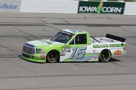 100 Arca Truck Series Brett Moffitt Hattori Racing Continue Sponsorship Search For