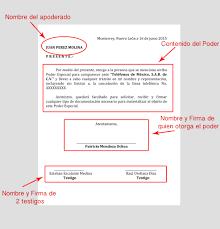 Ejemplo De Carta De Poder Ejemplos De
