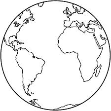 Pin De Col En Education Planeta Tierra Para Colorear