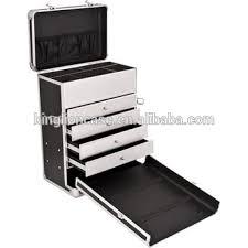 New Design Trolley Drawers Insert Portable Makeup Vanity Case Kl