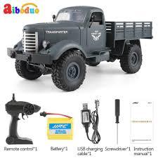 100 Cheap Remote Control Trucks Q60 24G RC Machine 4 Wheel Drive Tracked Off Road RC