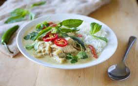 Thai Green Pumpkin Curry Recipe by Thai Green Curry With Chicken And Eggplant The Partial Ingredients
