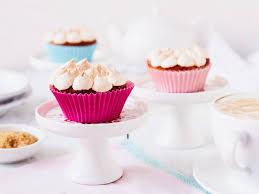 rhabarber muffins mit baiser herrlich lecker