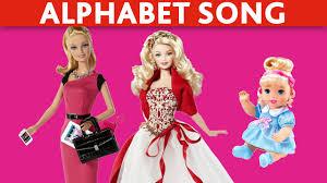 BARBIE DOLLS Videos ABC Song Alphabet Song ABC Nursery Rhymes ABC